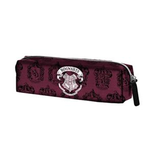 Karactermania Harry Potter Hogwarts-Square HS Pencil Case Trousses, 22 cm, Rouge (Red) 8