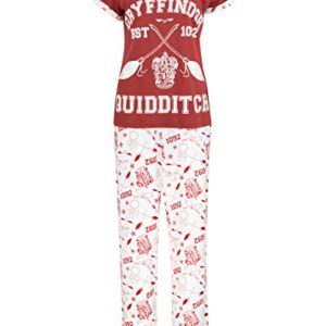 HARRY POTTER Ensemble De Pyjamas Quidditch Femme 92