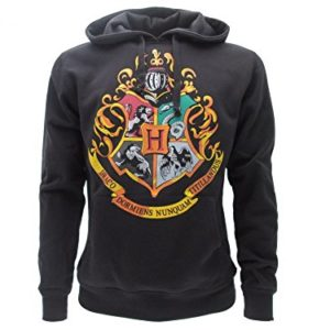 Harry Potter Sweat A Capuche Hoodie Blason Ecole DE Poudlard Hogwarts 4 Maisons - 100% Officiel Warner Bros 5