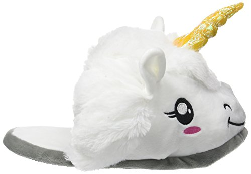 Star Images Peluche Licorne Chaussons 6