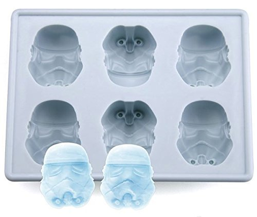 newyond Bac à glace en silicone pour les amateurs de Star Wars ou Party 4