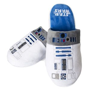 Étoile Officiel Wars R2-D2 Adulte Mule Slip On chaussons - 2 Tailles Disponibles 9
