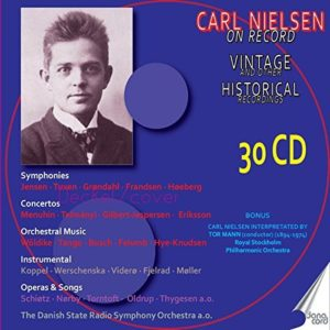 Carl Nielsen on Record Vintage Historical 6