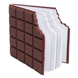 Hellathund Carnet de notes en forme de tablette de chocolat 12