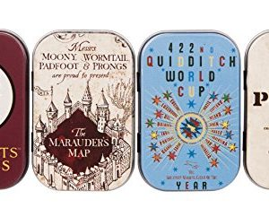 Harry Potter TIN4HP02 Boite Intemporelles (Lot de 4) - Carte Multicolore 17 (l) x 6.5 (h) cm 15