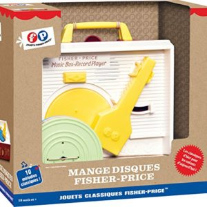 Fisher Price  -  Jeu Electronique - Mange Disques 50