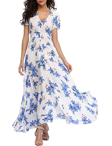 771a3725715 Click to enlarge. AccueilPassionMode VOGMATE Femme Robe Chic Longue ...