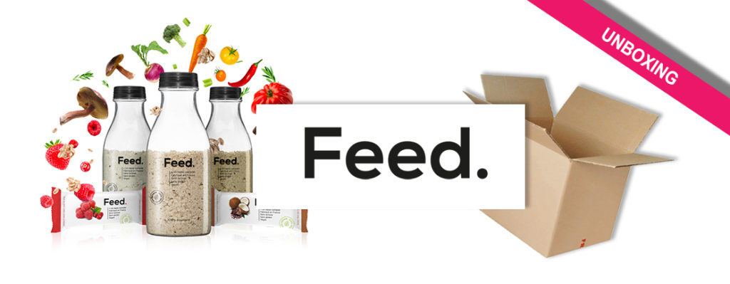 unboxing Feed box
