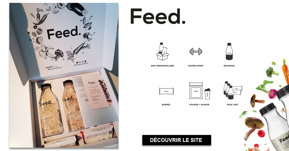 personalgifter feed unboxing - vegan, tests - Feed, on a testé pour vous !
