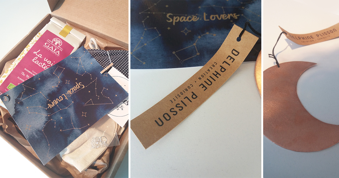 personalgifter franchbox mars galaxie unboxing - tests, consommer-francais, artisanat - On ouvre la Frenchbox de Mars