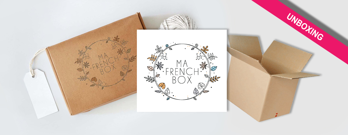 personalgifter mafrenchbox unboxing box bio - tests, consommer-francais, artisanat - On ouvre la Frenchbox de Mars