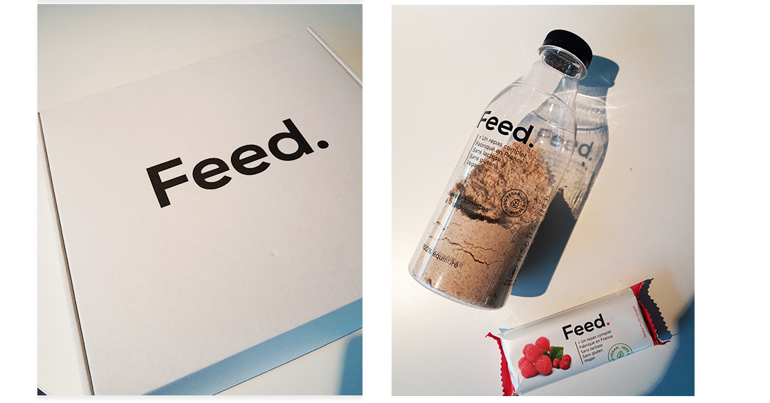 personalgifter unboxing feedsmartfood - vegan, tests - Feed, on a testé pour vous !