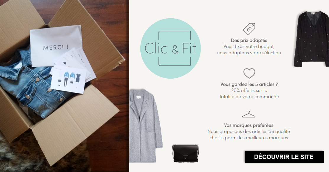 unboxing clic and fit personalgifter - tests, mode - Unboxing Clic and Fit - Personal Gifter ouvre avec vous !