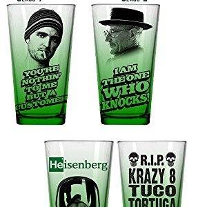 Breaking Bad 4 Piece Green Ensemble de Pinte 25
