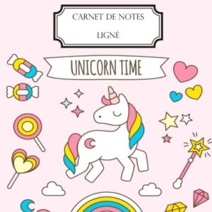 Carnet de notes lign A4 Grand format 160 pages lignes Licorne 0 300x300 - ecole, fille, licorne, passion - Carnet de notes ligné: A4 - Grand format - 160 pages lignées - Licorne