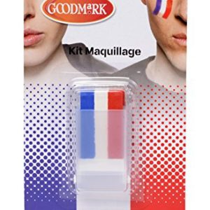 Cesar Industrie Cer02021071 Pf Maquillage Tricolore 0 300x300 - foot, sport - Cesar Industrie - Cer02021071-Pf - Maquillage - Tricolore