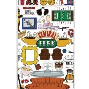 Coquefone Coque iPhone 7 et iphone 8 Friends Central Park TV Série 22