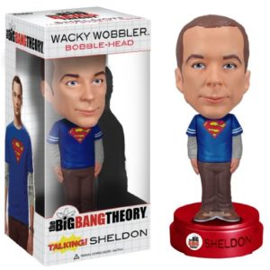 Funko - Bobble Head Big Bang Theory - Sheldon Superman Talking - 0849803036102 21