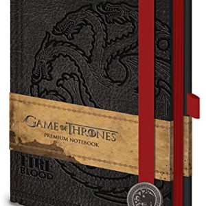 Game of Thrones Jeu de sr71898 Targaryen Premium Format A5 82