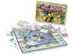 MONOPOLY THE SIMPSONS by Monopoly 55