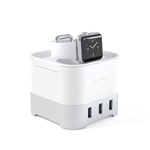 SATECHI Support de Charge Intelligent USB 4 Ports Compatible avec Apple Watch, iPhone X, 8 Plus, 8 Plus, 8 et Plus (Or) 43