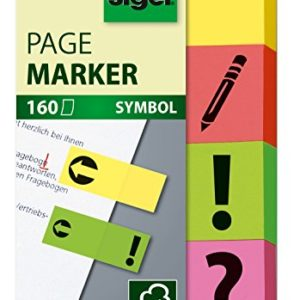 Sigel Marque-pages smiley en papier 23