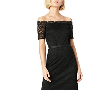TRUTH FABLE Robe Femme Col Bardot en Dentelle 0 300x300 - lifestyle, mode - TRUTH & FABLE Robe Femme Col Bardot en Dentelle