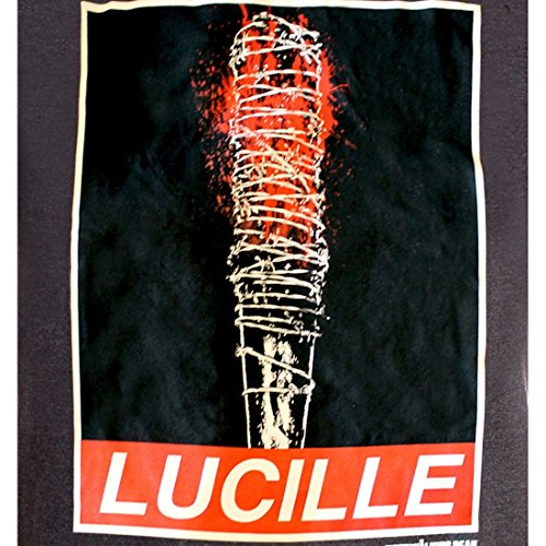 Tshirt The Walking Dead Lucille Obey Rules 0 0 - thewalkingdead, serie, cinema - Tshirt The Walking Dead - Lucille Obey Rules