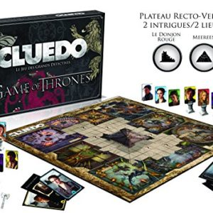 Cluedo GAME OF THRONES-Version Française, 0949, aucune 10