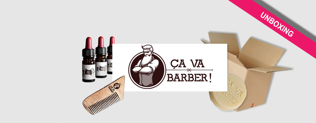 personalgifter unboxing cavabarber - tests, barbe, actus - Ça va barber ! On a testé