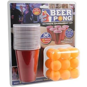 36 Pieces ultime Beer Pong Tournament Kit Cups Balls Adult Bars Game Set 0 300x300 - foot, sport - 36 Pieces ultime Beer Pong Tournament Kit Cups & Balls Adult Bars Game Set
