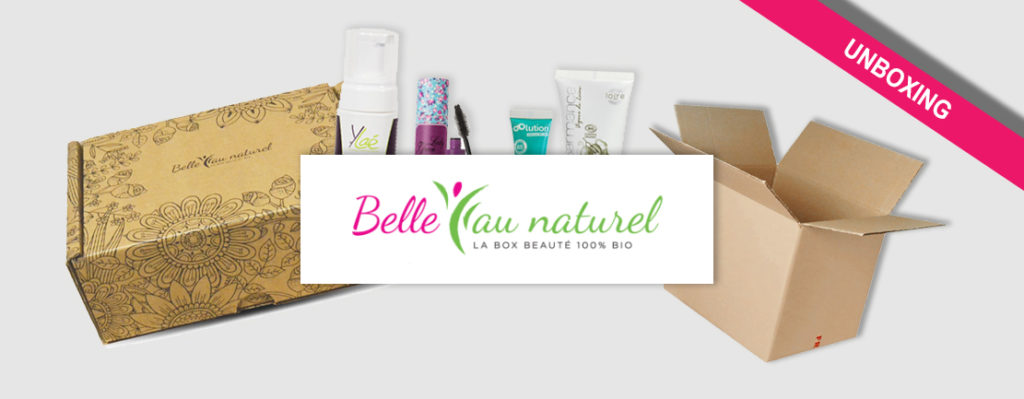 Unboxing Box Belle au Naturel Mai 1