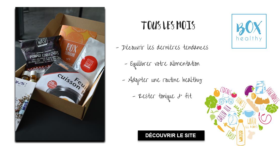 presentationhealthybox unboxing personalgifter - tests, healthy, actus - Box Healthy unboxing
