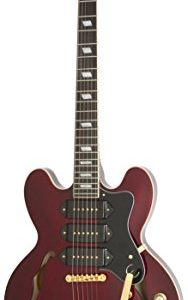 Epiphone Riviera Custom P93 Guitare électrique Wine Red 56