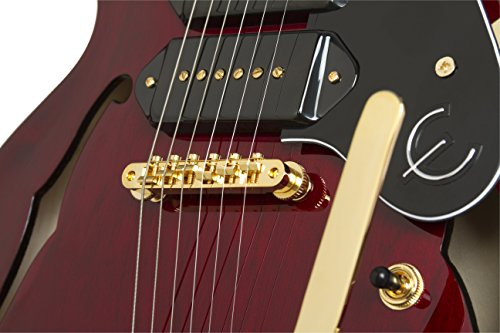 Epiphone Riviera Custom P93 Guitare électrique Wine Red 5