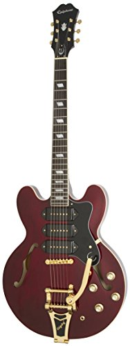 Epiphone Riviera Custom P93 Guitare électrique Wine Red 1