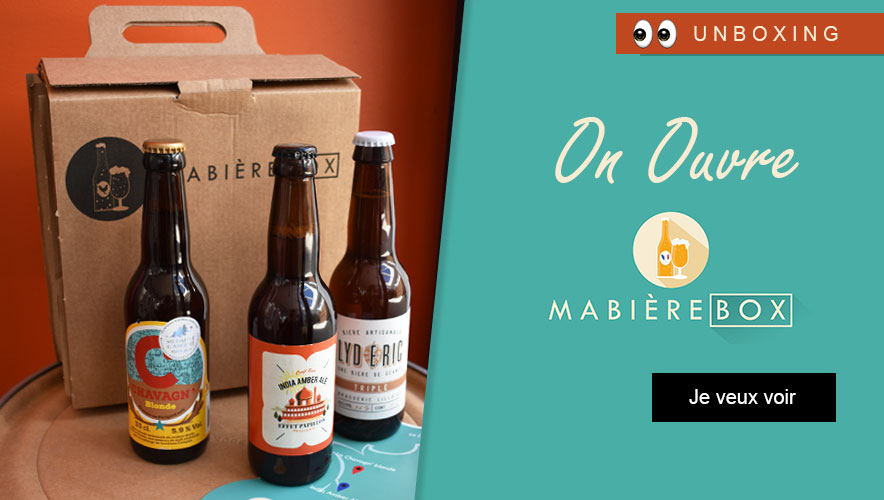 ma bière box unboxing personal gifter