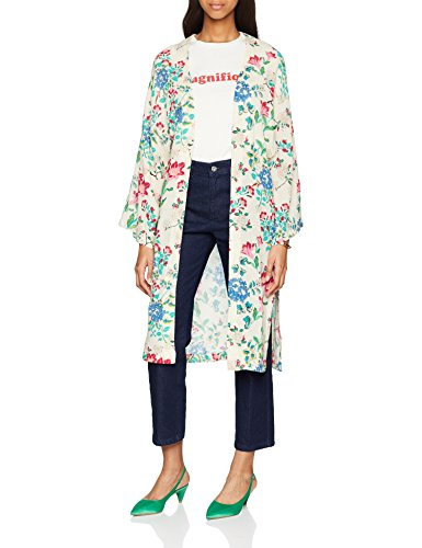 Springfield 8413266 Kimono, Beige (Gama tostados), X (Taille Fabricant:X-Small) Femme 1