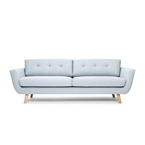 Sacndinavian Design MD 788 3S Style light blue 091 Come back Canap avec 3 Places TissuPolyester 215 x 96 x 81 cm 0 - decoration, passion, mobilier - Sacndinavian Design MD 788 3S Style light blue 091 Come back Canapé avec 3 Places Tissu/Polyester 215 x 96 x 81 cm