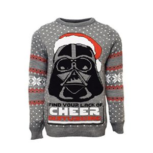 Star Wars Darth Vader Christmas Jumper - Large 6