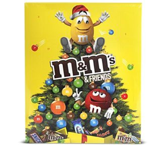 M&M's & Friends Calendrier de l'Avent Chocolat Noël - 361g 39