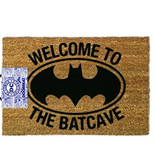 ootb GP85021 Essuie-Pieds, Batman - Welcome to The Batcave, 80 x 150 cm 66