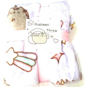 Pusheen Mermaid Throw Pusheen The Cat Blanket Supersoft 125cm x 150cm Sold by Bend The Trend2 24