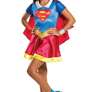 "DC Super Héros Filles 620742s ""Rubie's Super Girl Costume Taille S (3- 4 Ans) 55"