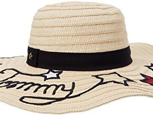 Tommy Hilfiger Tommy Stars Straw Hat Chapeau De Soleil, Beige (Natural 203), Unique (Taille Fabricant: OS) Femme 11