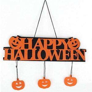 Westeng Halloween Décoration à Suspendu pour Porte Halloween Ornement Suspendu 7