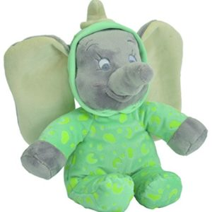 Disney Peluche Veilleuse Brille Dans la Nuit - Marie Glow in the Dark - Rose 25 cm 40