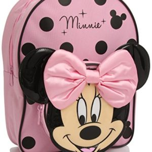 Disney Minnie Mouse Sac à dos Rose Noir 13