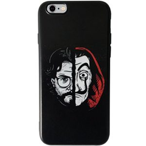 Komete Coque iPhone La CASA de Papel Salvador Dali Netflix Flexible Noir 0 300x300 - la-casa-de-papel, serie, cinema - Komete Coque iPhone La CASA de Papel - Salvador Dali - Netflix (Flexible - Noir)