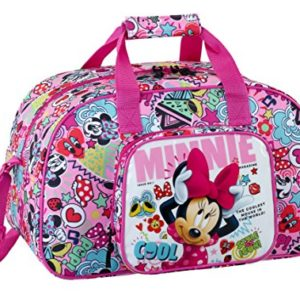 Minnie 2018 Sac de Sport Enfant, 40 cm, 22 liters, Rose (Rosa y Fucsia) 15